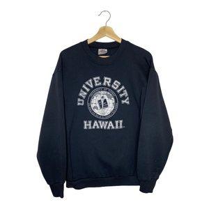 Vintage University Of Hawaii Pullover Sweatshirt L